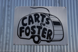 Carts on Foster-2