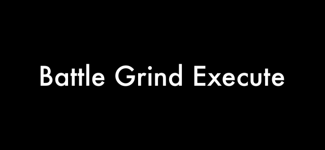 Battle Grind Execute My Next Level Year 2017 Steven Shomler